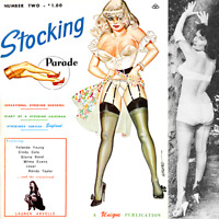 STOCKING PARADE 2 1965 Selbee Eneg Bilbrew high heels corsets ebooks on CD