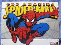 The Amazing Spiderman Classic Tin Metal Sign NEW Super Hero