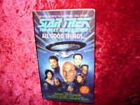 STAR TREK-NEXT GENERATION-NOVEL-ALL GOOD THINGS