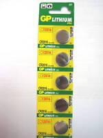 5 pc CR2016 CR 2016 3v Lithium Battery NEW Exp 2019 GP