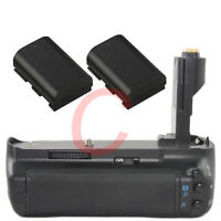 Battery Grip for Canon EOS 7D BG-E7 + 2 LP-E6 1800mAh