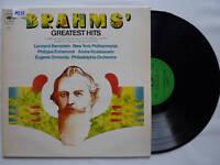 "BRAHMS GREATEST HITS 12"" LP Vinyl A937"