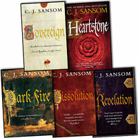 C. J. Sansom The Shardlake Series 5 Books Collection Set-Heartstone, Dissolution