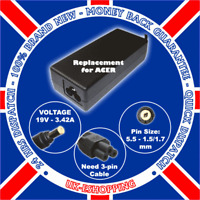 FOR ACER ASPIRE 5100 5001 5102 CHARGER POWER SUPPLY PSU