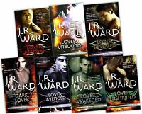 Black Dagger Brotherhood Series J.R Ward 7 books Set