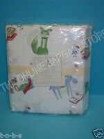 Pottery Barn Kids Twin BEDTIME STORIES Bed Bedroom Sheets set new animals