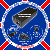 FOR TOSHIBA SATELLITE PRO A120-201 POWER SUPPLY CHARGER