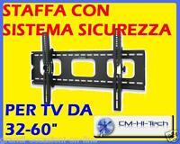 SUPPORTO STAFFA MURO PER TV 32 37 42 52 PLASMA LED LCD
