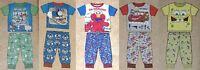 New Boys 2 Piece Boxed PJ Pajama Outfit Toy Story Thomas Elmo Cars SpongeBob