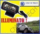 INCLINOMETRO ILLUMINATO CON DOPPIO INDICATORE LONGITUDINALE TRASVERSALE PER AUTO