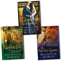 Michelle Moran Collection 3 Books Set Cleopatras Daughter, The Heretic Queen New
