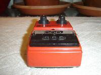 DOD FX55, Distortion, Vintage Guitar Pedal