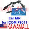 KAWAMALL Acoustic Covert Coil Ear Mic for ICOM IC-F9011 IC-9021 P25 Radios