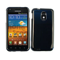Glossy Black Hard Cover Protector Case Samsung Galaxy S 2 II Epic Touch 4G D710