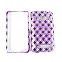 For HTC Evo 4G A9292 Hard Case Saints On Purple Snap On Phone Cover Faceplate