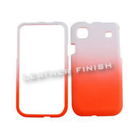 Orange & White Tones Hard Cover Case For Samsung Galaxy S 4G Vibrant T959 i9000