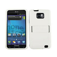 2 in 1 Hybrid Hard Cover For Samsung Galaxy S 2 i777 i9100 Phone Case Black Skin