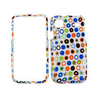Colorful Polka Dots White Cover Case For Samsung Galaxy S 4G Vibrant T959 i9000