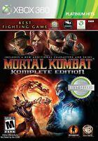 NEW MORTAL KOMBAT KOMPLETE EDITION  (Xbox 360, 2012) NTSC