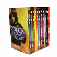 The 39 Clues Collection 11 Books Set Pack Series Collection - Digital Cards Code