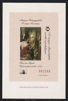 HUNGARY 1999 - Christening of Vajk. Cardboard. Red number. Commemorative Sheet.