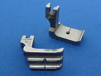Industrial Sewing Machine Piping Foot WORKS ON Brother, Juki, Double Side 1/4""