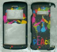RAINBOW PEACE FACEPLATE PHONE COVER HARD CASE LG ENV 3 VX-9200 VERIZON