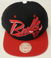 NBA Chicago Bulls Mitchell and Ness Adjustable Fit Cap Hat Snap-Back M&N NEW!
