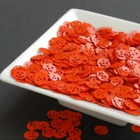 25g  Orange Pumpkins - Confetti, Sequins, Spangle