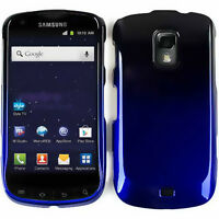 Blue Black Tone Hard Cover Case for Samsung Galaxy S Lightray 4G R940 Faceplate