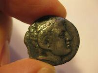 Cyrenaica, Cyrene, AR didrachm Greek silver coin, 308-277 BC, 7.2 g