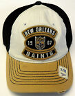 NFL New Orleans Saints Reebok Vintage Slouch Flex Cap Hat Mesh-Back S/M NEW!