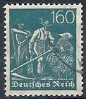 1922-23 GERMANIA USATO REICH WEIMAR 160 P F.2 - DE015