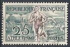 1953 FRANCIA USATO OLIMPIADI DI HELSINKI 25 F ATLETICA - FR594