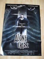 Filmplakat : Alone in the Dark ( Christian Slater )