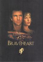 Pressemappe Braveheart (Mel Gibson)
