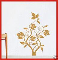 Pflanze Blume Wandaufkleber Wandtattoo Deko A7 - 60cm Wohnzimmer Flur Aufkleber