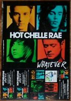 HOT CHELLE RAE Whatever Ltd Ed Discontinued RARE Poster +FREE Pop/Rock Poster!