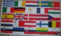 European Nations Flag. EU EEC School Teacher Geography Business Exports Politics