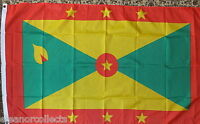 Grenada Flag Caribbean Creole Tourism Tourist Holidays 5x3 Sports Hotels bnip