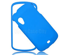 Light Blue Phone Case For Samsung Stratosphere i405 Faceplate Hard Cover Snap On