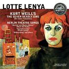 Lotte Lenya Sings Kurt Weill - CD