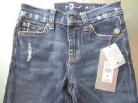 7 For all Mankind Jeans BNWT$100.00 Skinny jeans dark blue Girls Sizes: 8 10 12