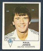 PANINI FOOTBALL 80 #042-BOLTON WANDERERS-PAUL JONES