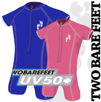 New Two Bare Feet Baby UV50 Lycra Baby Sun Suit