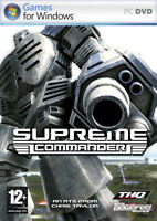 SUPREME COMMANDER : ENGLISH PC CLASSIC GREAT COMPUTER  DVD ROM : GREAT GAME 12+