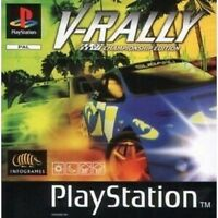 V RALLY  CHAMP E - Sony SONY PLAYSTATION 1 Game also Playstation  2 3