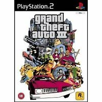 GRAND THEFT AUTO 3 III FOR PLAYSTATION COOL CLASSIC  2 PS2