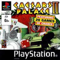 Caesers Palace II SONY PLAYSTATION 1 - 20 games of chance Playstation