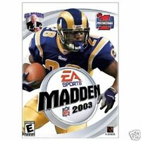 EA SPORTS NFL MADDEN 2003 - ENGLISH PC CLASSIC GREAT COMPUTER    GAME WINDOWS